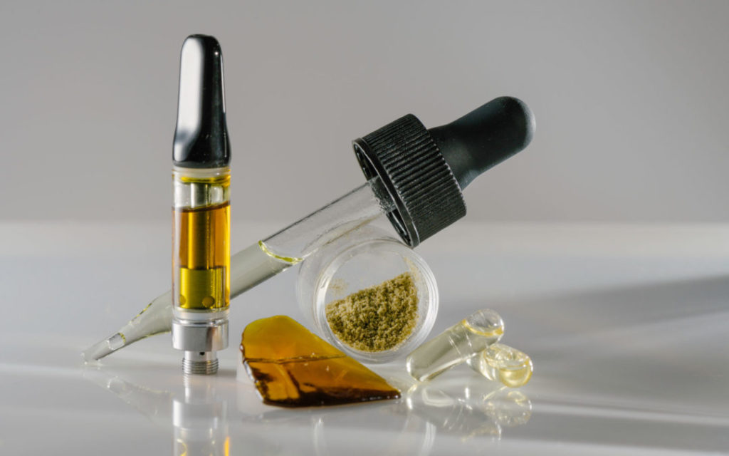 Remedial Benefits from THC Oils of Cannabis
